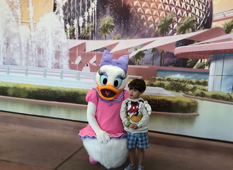 Disney World with a 3 Year Old - Spring 2018