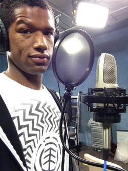 Josh Wallace Musique Recording Shot 1