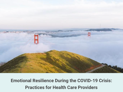 "Dan Siegel, UCLA Mindsight Institute ""Emotional Resilience for Healthcare Providers"" 4/2, 3p ET"