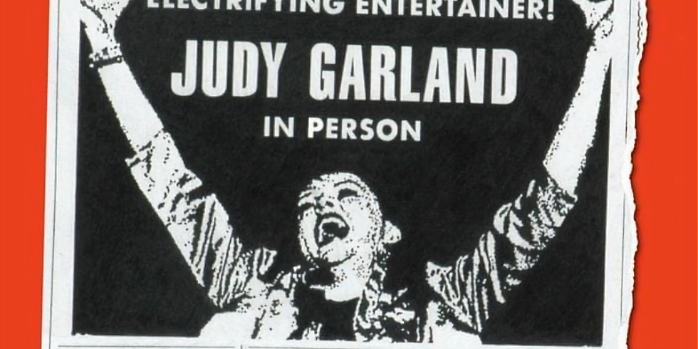 Judy Australia 1964 featuring Nina Ferro as Judy Garland
