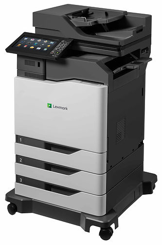 Lexmark XC8160 colour A4 printer