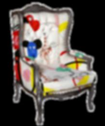Art Licensing Chair Abstract Art
