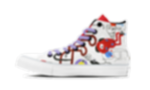 Art Licensing Shoes Abstract Art