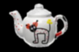 Art Licensing Teapot Abstract Art