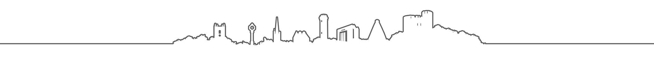 Borough Skyline Illustration