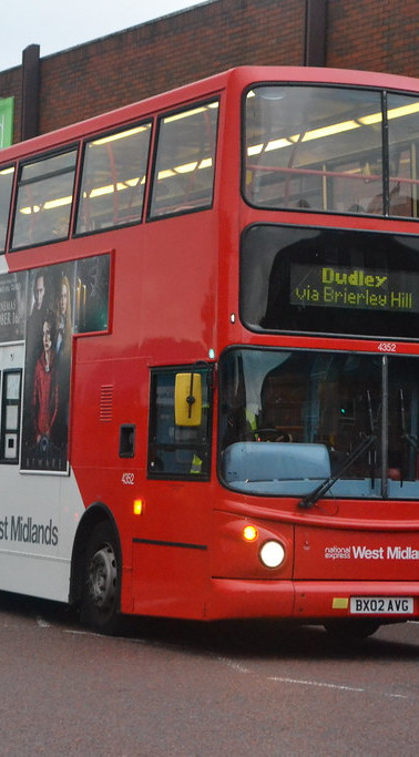 Double Decker Bus in Dudley