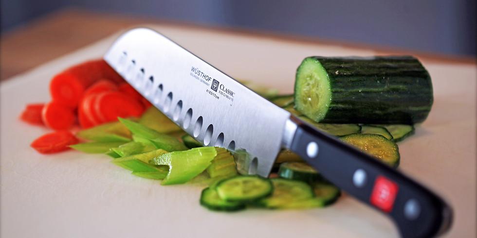 Knife Skills 101 & Herb ID