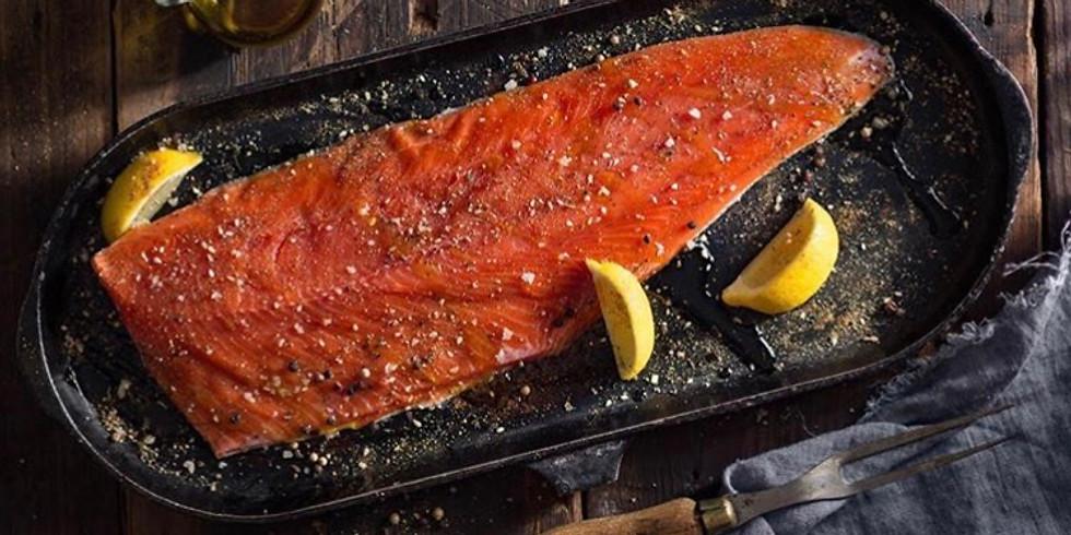 Salmon 101/ Blind Tasting