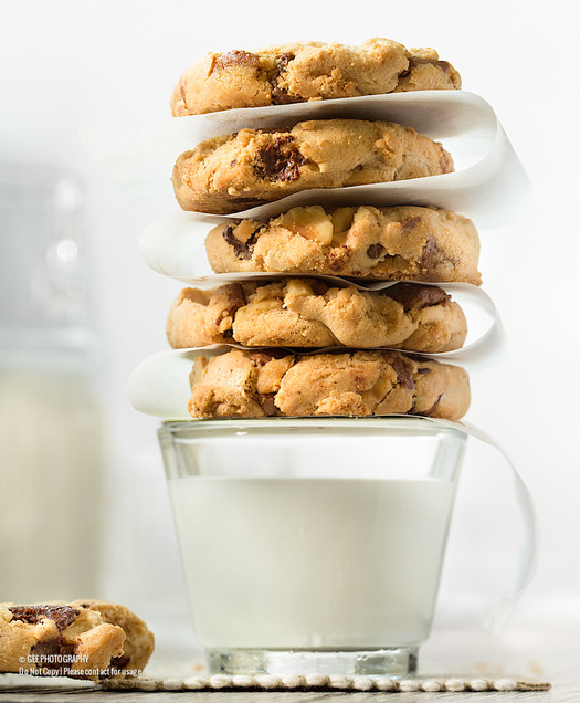 Cookies and milk food photography by Gee Photography