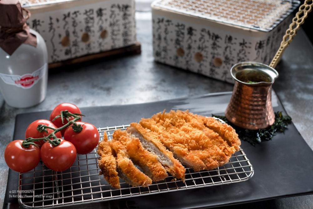 Tonkatsu food photography by Gee Photography