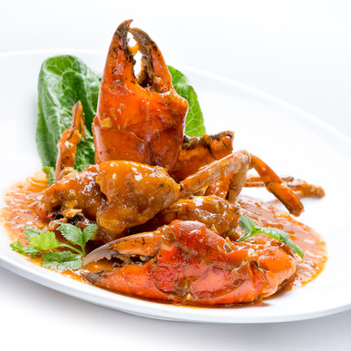 Chilli crab dish food photography by Gee Photography