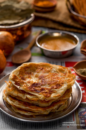 Roti prata food photography by Gee Photography