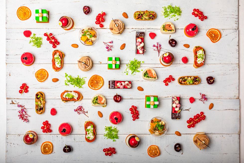 Creative food photo shoot