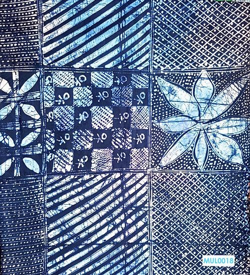 copy of Adire Batik on Cotton (Light Multi)
