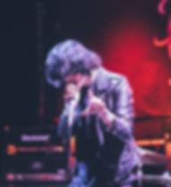 Band Singer Performing