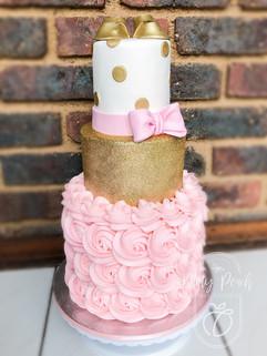 3 Tier Babyshower cake