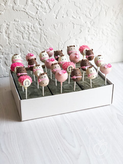 Horse themed cake pops