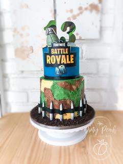 Fortnite Cake- Battle royal cake