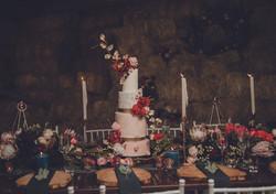 Burgundy and Blush wedding