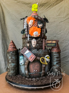 Hotel transylvania themed cake