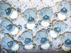 Tatty teddy themed royal biscuits