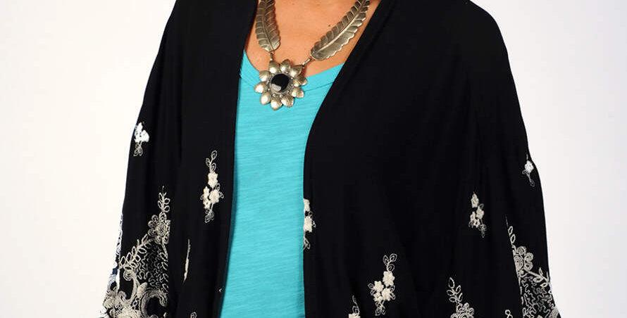 Ivy Jane Lace Trimmed Jacket