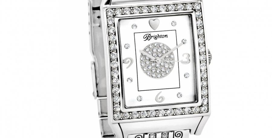 Diamond Bar Link Watch