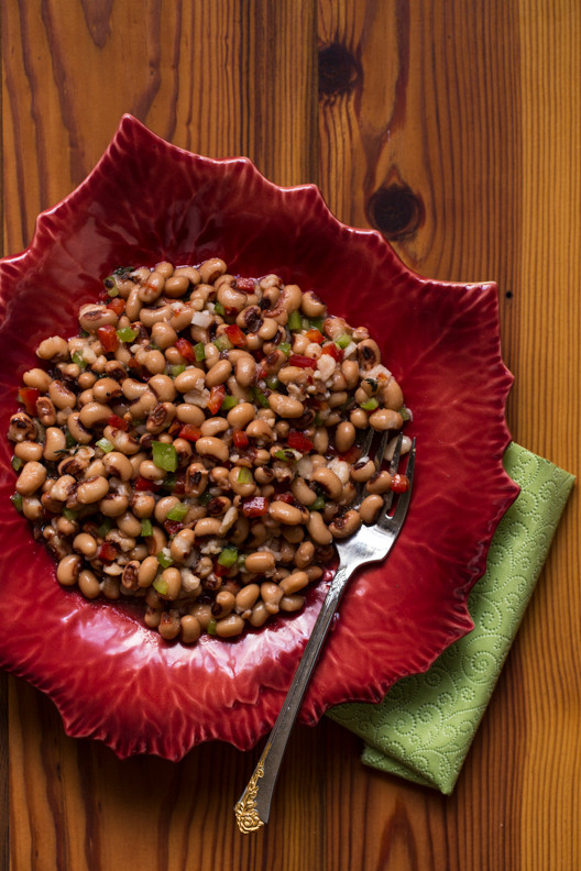 Turn those leftover Black Eyed Peas into a Fresh & Vibrant Salad!