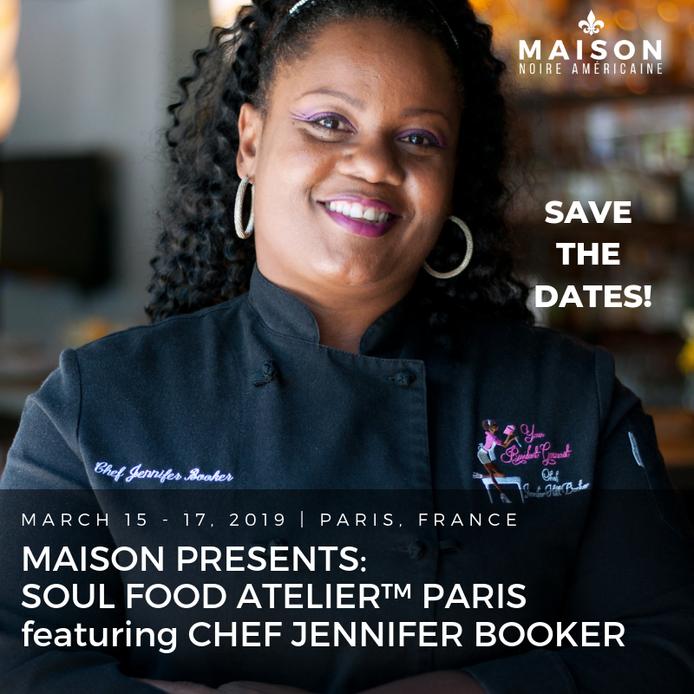Chef Jennifer Debuts in Paris: Soul Food Atelier!