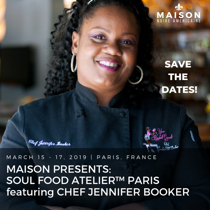 Chef Jennifer Debuts in Paris: Soul Food Atelier!