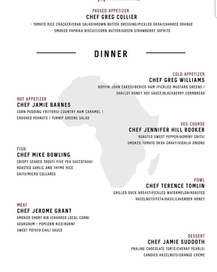 Soul Food Sessions The Table is Set: Welcomes Guest Chef Jennifer Hill Booker! Washington D.C. Dinne