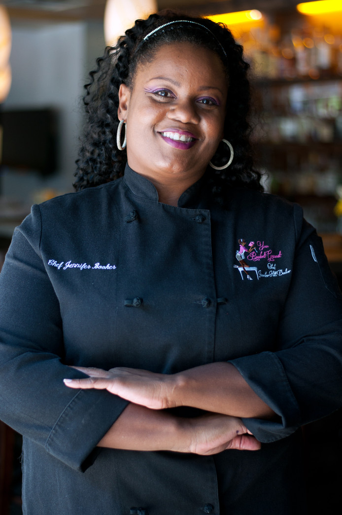 Chef Jennifer Hill Booker takes Atlanta Food & Wine Festival by storm!