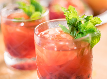 Cheers! To A Very Berry Bramble!