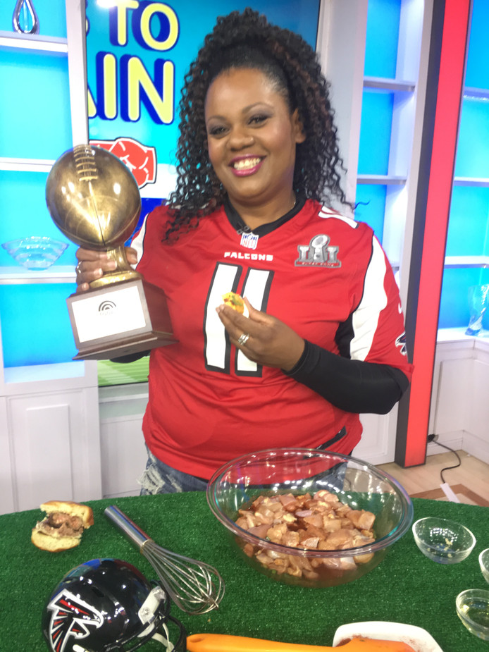 Atlanta chef wins Round 1 of Super Bowl Culinary Cook-off