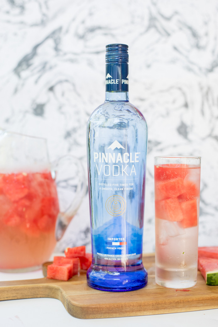 Enjoy the last days of Summer with a Pinnacle Vodka Charente Sangria!