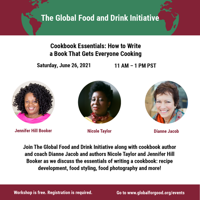 Soo . . . you want to write a cookbook? This webinar is for you.