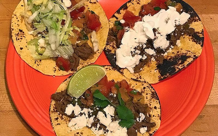 These street tacos are a healthy weeknight meal the whole family will love!