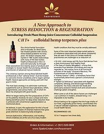 The Spalon Linden CHT+ hemp oil