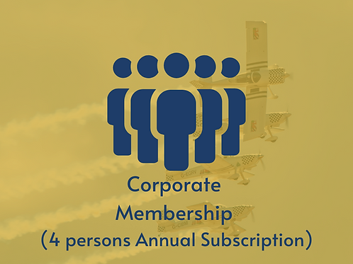 Corporate Membership (4 Persons Annual Subscription