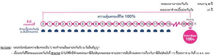 ความคุ่มครอง เมืองไทย สมาร์ท โพรเทคชั่น 99/20