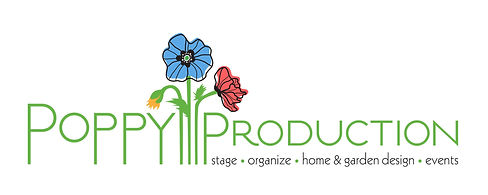 Poppy Production Home Staging Interior Design Garden Design Events