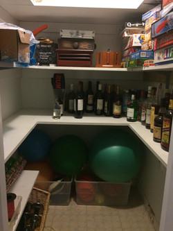 After-Storage Closet