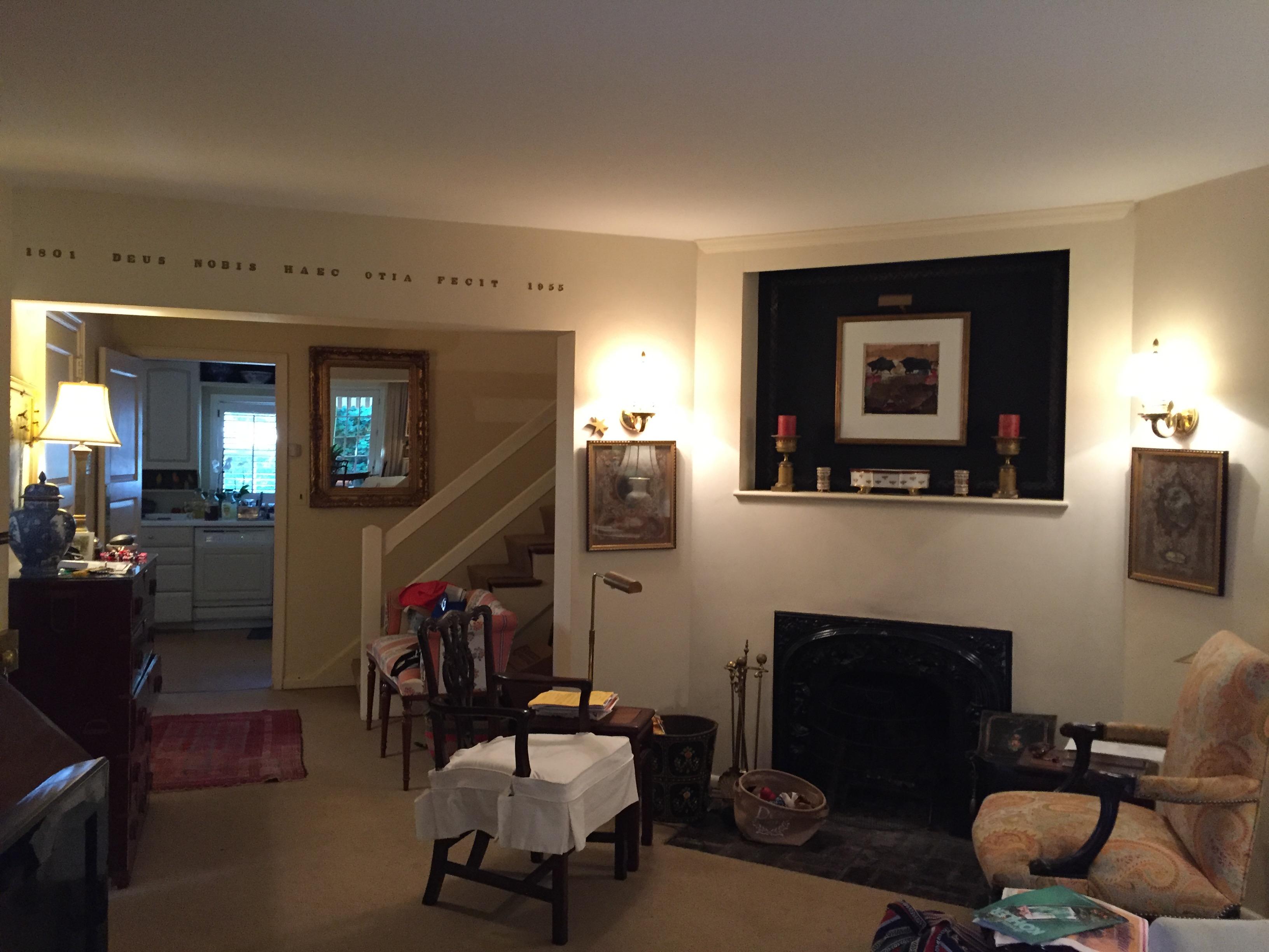 Before-Foyer Living
