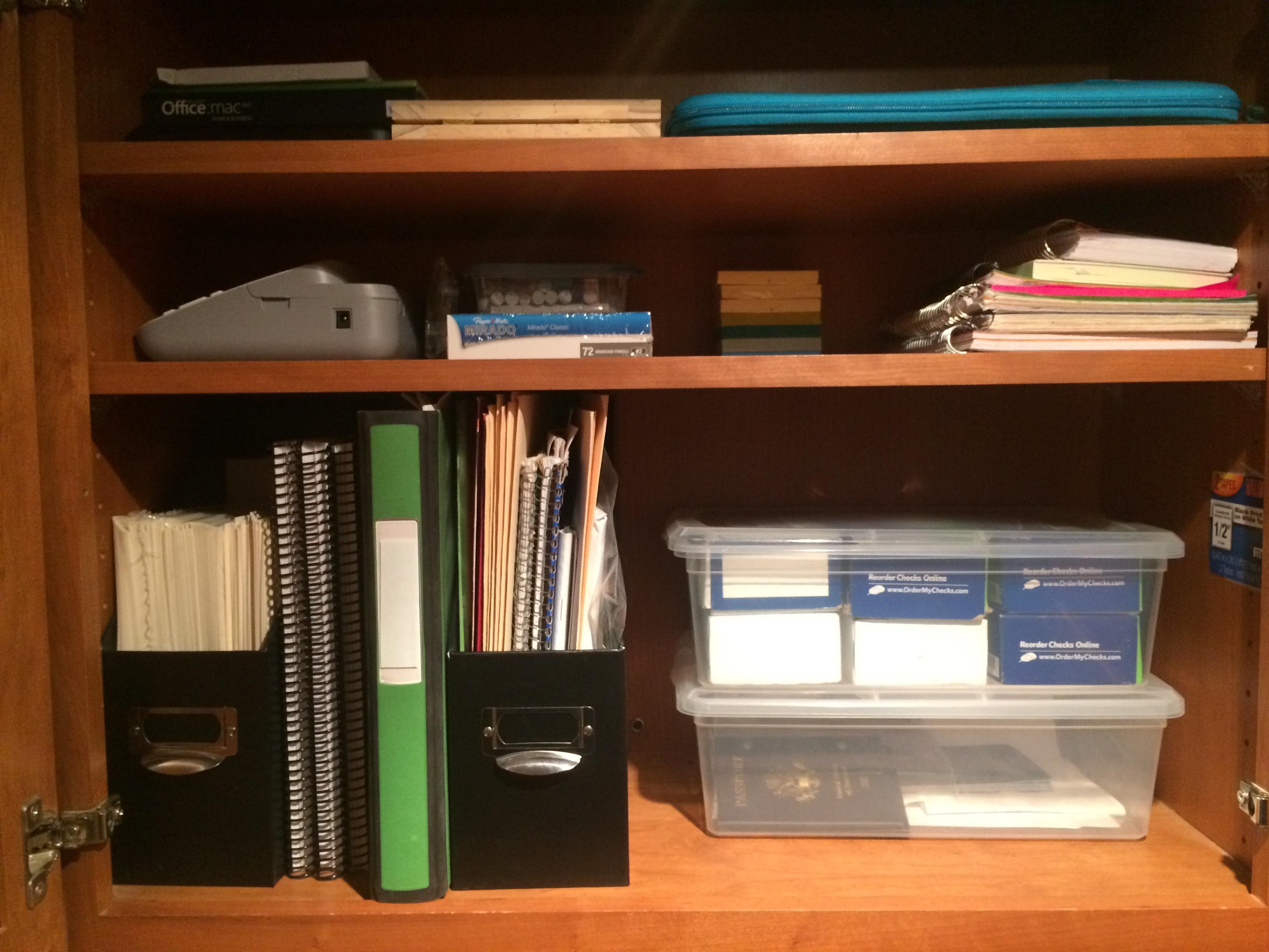 After- Office Shelf