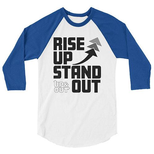 RISE UP STAND OUT Raglan Shirt