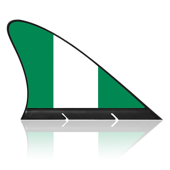 Nigeria CARFIN, Magnetic Car Flag & Car Sign.
