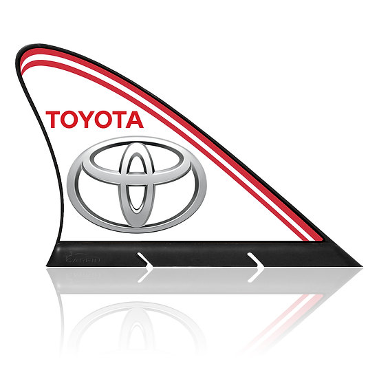 Toyota CARFIN, Magnetic Car Flag & Car Sign.