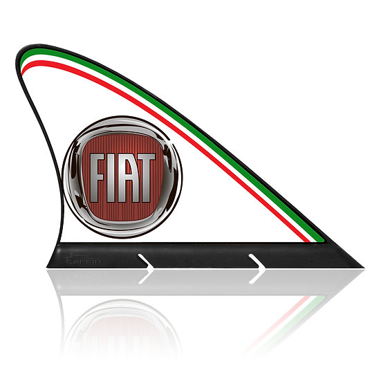 Fiat CARFIN, Magnetic Car Flag &  Car Sign.