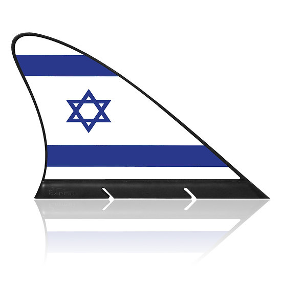 Israil CARFIN, Magnetic Car Flag & Car Sign.