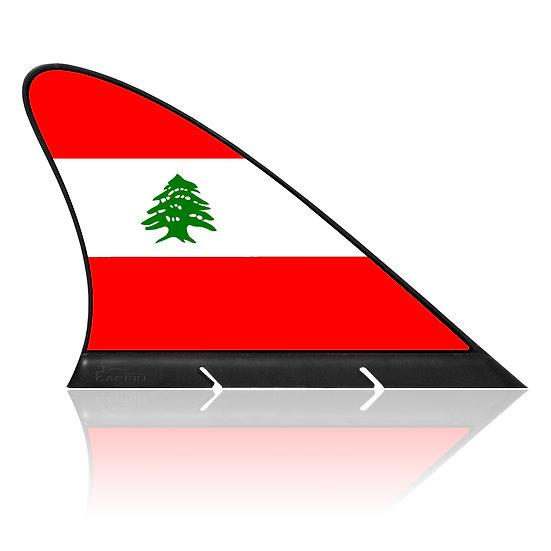 Lebanon CARFIN, Magnetic Car Flag & Car Sign.